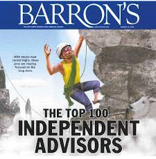 Barron's Magazine naming Leo Kelly one of the top 10 independent advisors